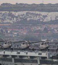 Britain plans 'war battle' with North Korea