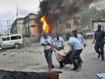 Car explosion near hotel in Somali capital kill 22