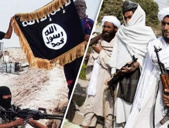 Conflict between armed Taliban and Daesh in Jawzjan province