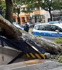 Deadly storm stroke northern Germany, killing several