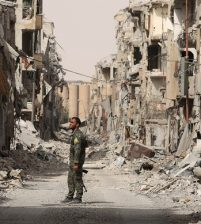 Syria war: Daesh militants leave 'Raqqa'