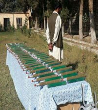 Takhar NDS officers arrest man for transferring armaments to Taliban