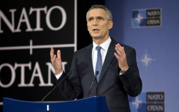NATO chief Arrived in Afghanistan