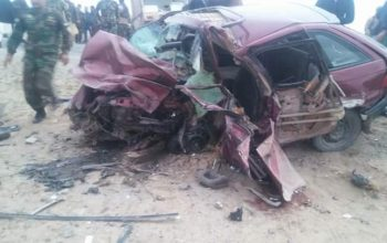 Traffic Accident Killed Five People in Herat