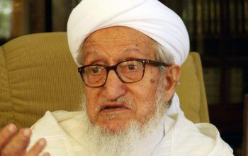 Sibghatullah Mujaddedi Passed away
