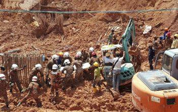 Myanmar Landslide kills 50 Miners