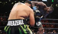 Wilder knocked out Breazeale via first-round