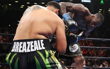 Wilder knocked out Breazeale via first-round