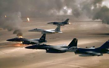 Arab Coalition Bombs Yemen's Capital Sanaa