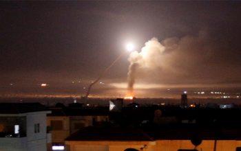 Hezbollah Rocket Attack at Israeli Military Base