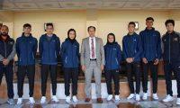 Afghan National Taekwondo Team Leaves for China