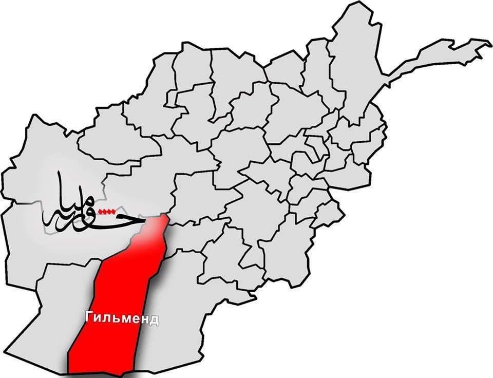В провинции Гельманд убит начальник полиции уезда Над Али