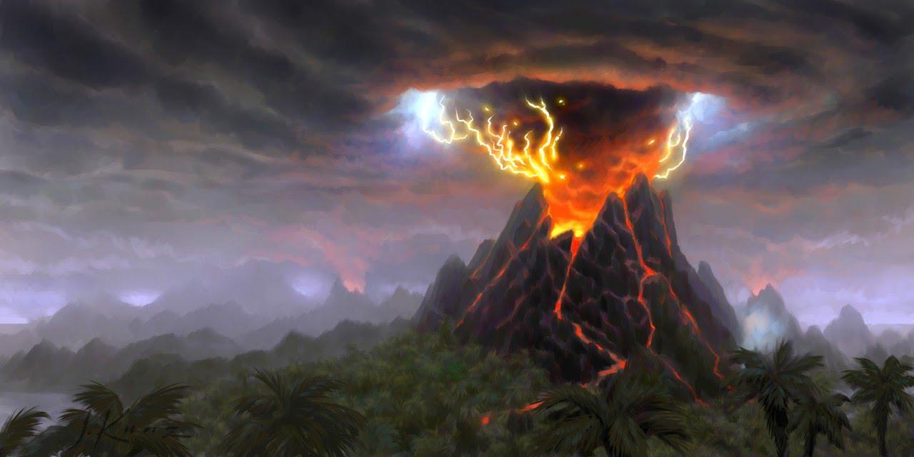 Об опасности извержения супервулкана заявили В NASA