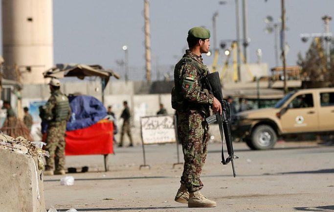 Теракт на конвой иностранных силы в Баграме