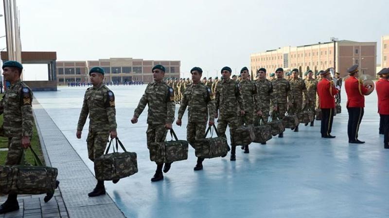 В Афганистан отправилась группа азербайджанских военнослужащих