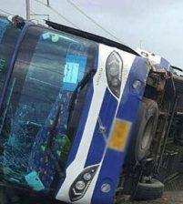В Таиланде в результате ДТП пострадали десятки человек