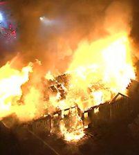 В результате пожара в доме престарелых в США пострадали почти 30 человек