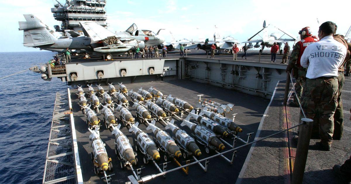 США сбросили на Афганистан более 3500 бомб в текущем году
