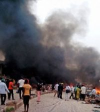 При серии взрывов в Нигерии погибли как минимум 14 человек