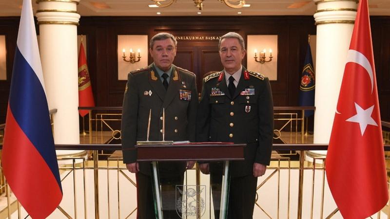 Главы генштабов турецкой и российской армий встретились