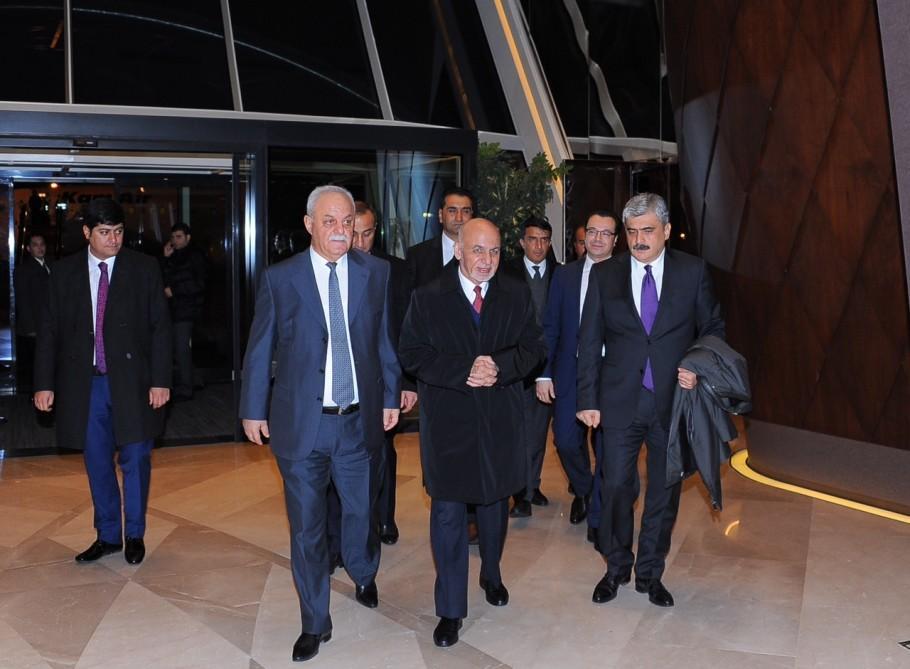 Ашраф Гани прибыл с визитом в Узбекистан