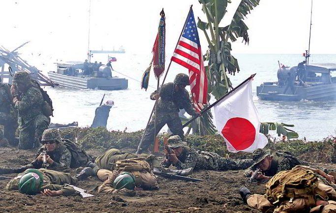 Совместные военно-морские учения США, Япония и Южная Корея