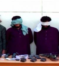 Афганское национальное управление безопасности арестовало группу вооруженных талибов из 4 человек