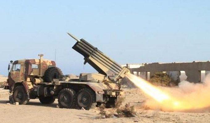 Йеменское ракетное нападение на военную базу Саудовской Аравии