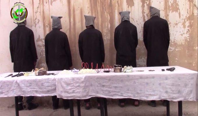 Была арестована группа из пяти боевиков «Талибан» в провинции Саманган