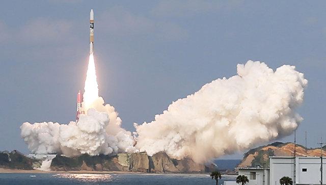 Япония: компактную ракету с коммерческим спутником на борту запущена успешно