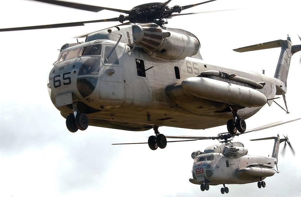 Прекратить полёты военных вертолётов после посадки на Окинаве потребовали в Японии от США