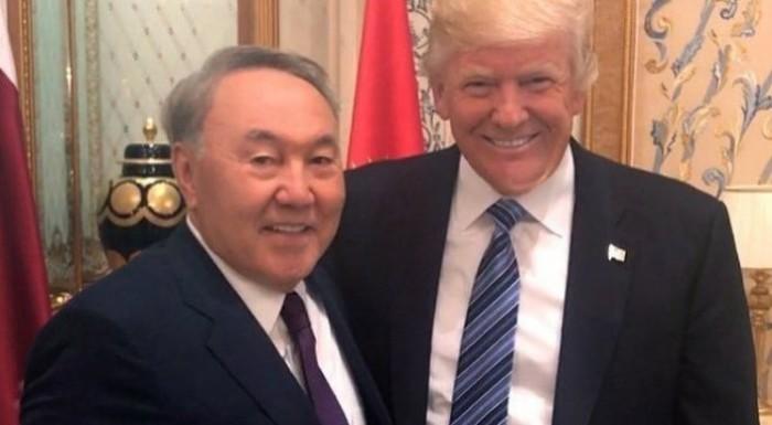 Назарбаев для встречи с Трампом прибыл в Вашингтон