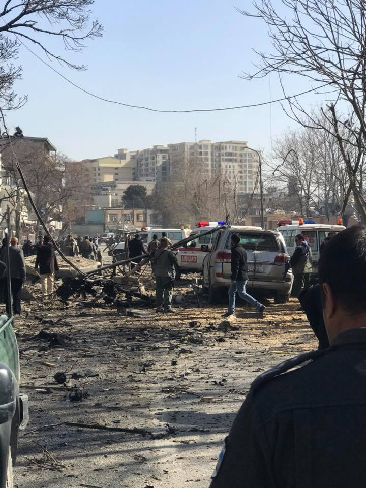 Число погибших при взрыве в Кабуле возросло до 40 человек + фото