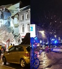 Полиция Бельгии сообщила о пострадавших при взрыве в Антверпене