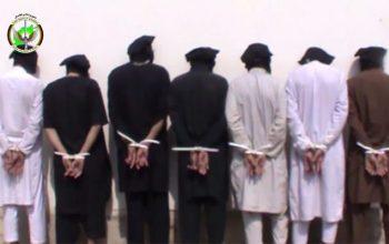 Были арестованы 14 террористов связанных с сетью «Хаккани» в провинции Хост+ Видео
