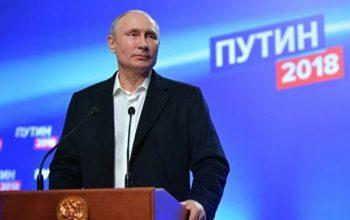 После обработки 95% протоколов Путин набирает 76% голосов