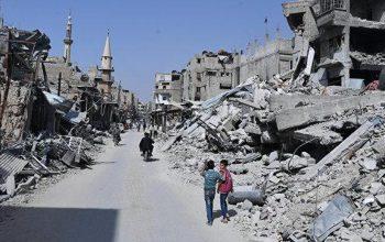 Сирия: начался ремонт дороги Восточная Гута – Дамаск
