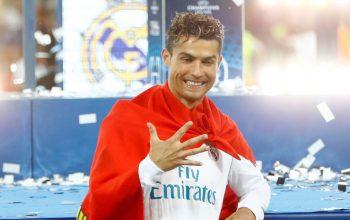 Первым футболистом в истории стал Роналду выигравший Лигу чемпионов пять раз