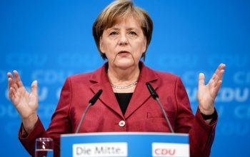 Меркель: Европа должна быть настойчивой перед попытками США изменить мировой порядок