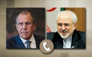 Лавров обсудил с Зарифом ситуацию вокруг ядерной сделки