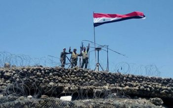 В освобождённом от боевиков городе Босра-эш-Шам армия Сирии подняла флаг