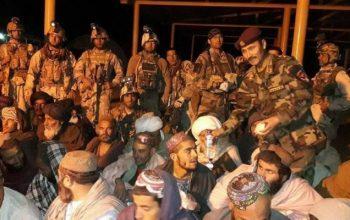 58 человек были освобождены из тюрьмы «Талибана»