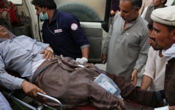 При нападении смертника на Министерство восстановления и развития сельхоз 22 человека убиты и ранены