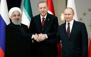Трехсторонний саммит лидеров России, Турции и Ирана по Сирии в Тегеране