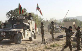 Талибан возле города Фарах
