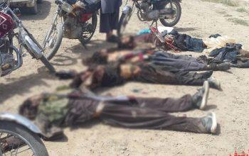 11 вооруженных талибов были убиты в Фарьябе