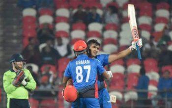 Новый рекорд по крикету Афганистана