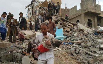 При Саудовском нападении в Йемене 85 тысяч человек погибли