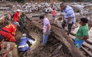 Из-за схода оползня в Колумбии погибли 19 человек