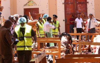 Число погибших при взрывах на Шри-Ланке достигло 290